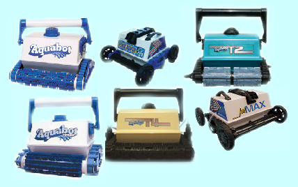 Aquabot Series Pool Vacuums